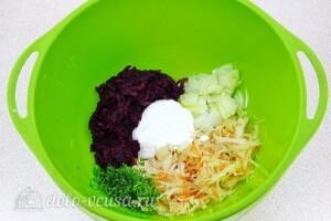 Салат из свёклы по-белорусски: фото к шагу 3.