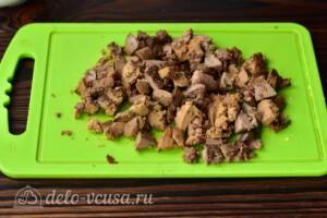 Салат с печенью и морковью по-корейски: фото к шагу 2.