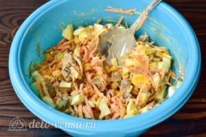 Салат с печенью и морковью по-корейски: фото к шагу 5.