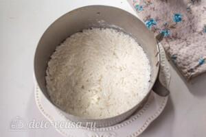Слоеный салат с рисом и черносливом: фото к шагу 2.