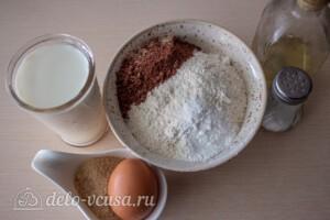 Шоколадные панкейки на молоке: Ингредиенты