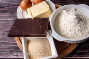Шоколадный фондан: Ингредиенты