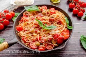 Спагетти Путанеска: фото к шагу 6.