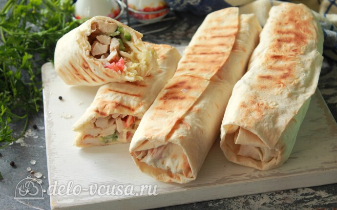 Шаурма по-арабски: фото блюда приготовленного по данному рецепту