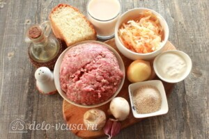 Баварские котлеты: Ингредиенты