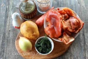 Грибной суп с перловкой: Ингредиенты