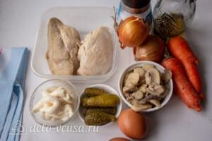 Машеровский салат: Ингредиенты