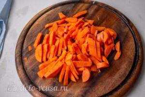 Машеровский салат: фото к шагу 2.