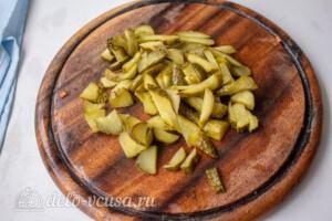 Машеровский салат: фото к шагу 4.