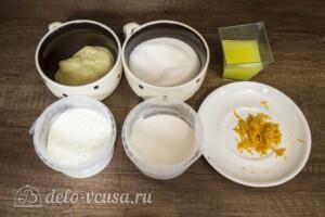 Апельсиновый зефир на палочке: Ингредиенты