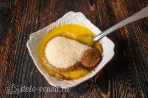 сливочное масло, сахар и коррица для начинки