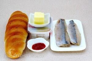 Бутерброды «Холостяцкий перекус»: Ингредиенты