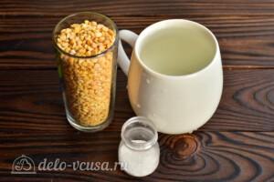 Гороховое пюре в мультиварке-скороварке: Ингредиенты