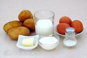 Картофель в льезоне со сметаной: Ингредиенты
