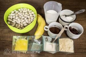 Кокосово-банановый кешьюкейк: Ингредиенты