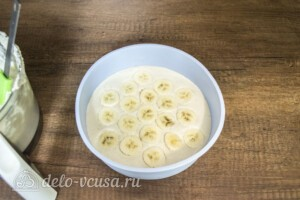 Кокосово-банановый кешьюкейк: фото к шагу 7.