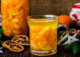 Рецепт мандариновый компот