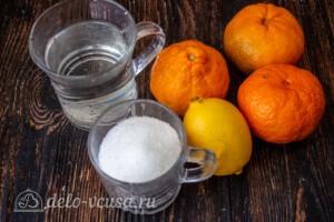 Мандариновый компот: Ингредиенты