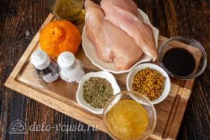 Куриная грудка с мандаринами: Ингредиенты