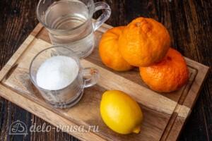 Мандариновый лимонад: Ингредиенты