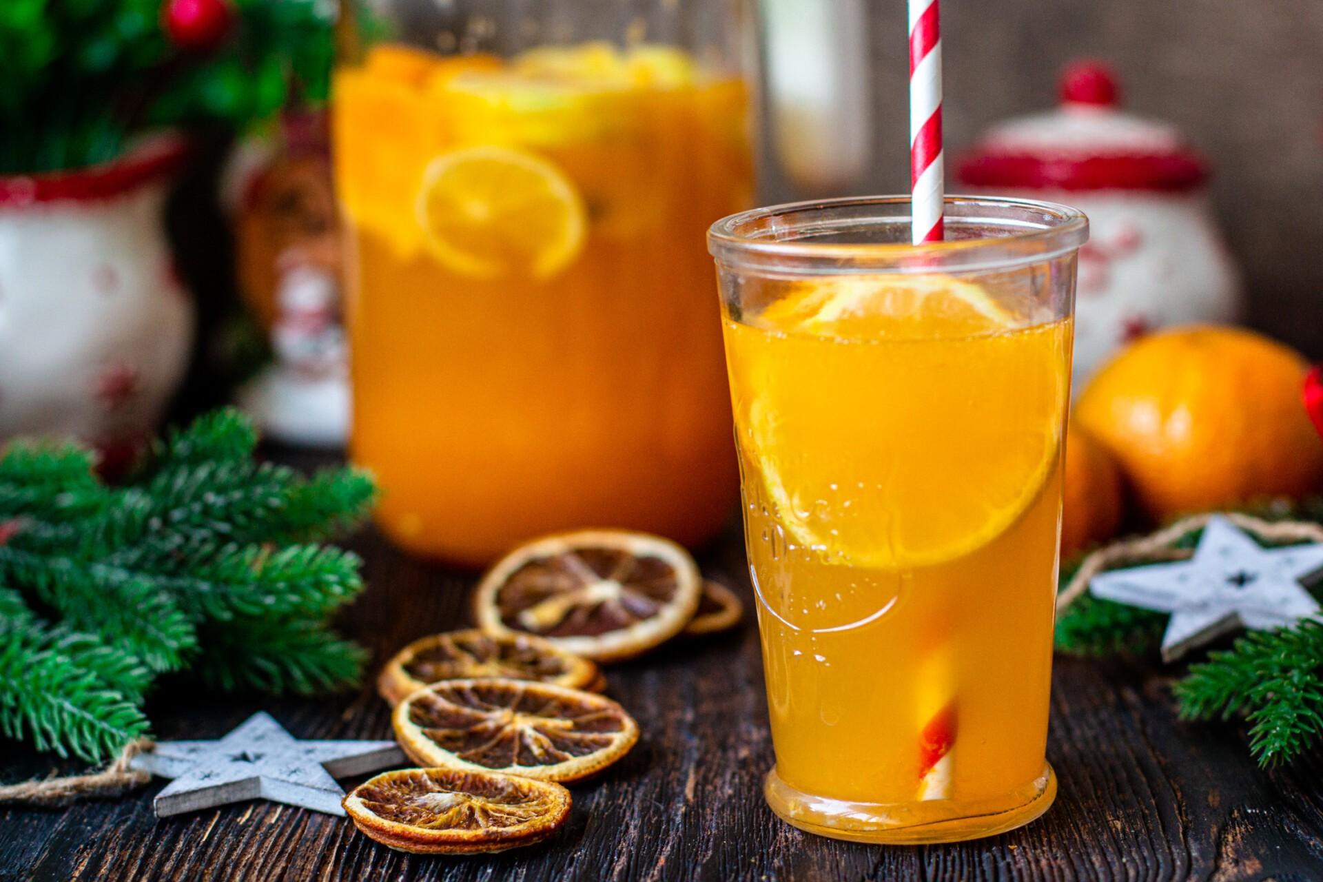 Мандариновый лимонад: фото к шагу 10.