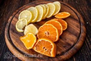 Мандариновый лимонад: фото к шагу 7.