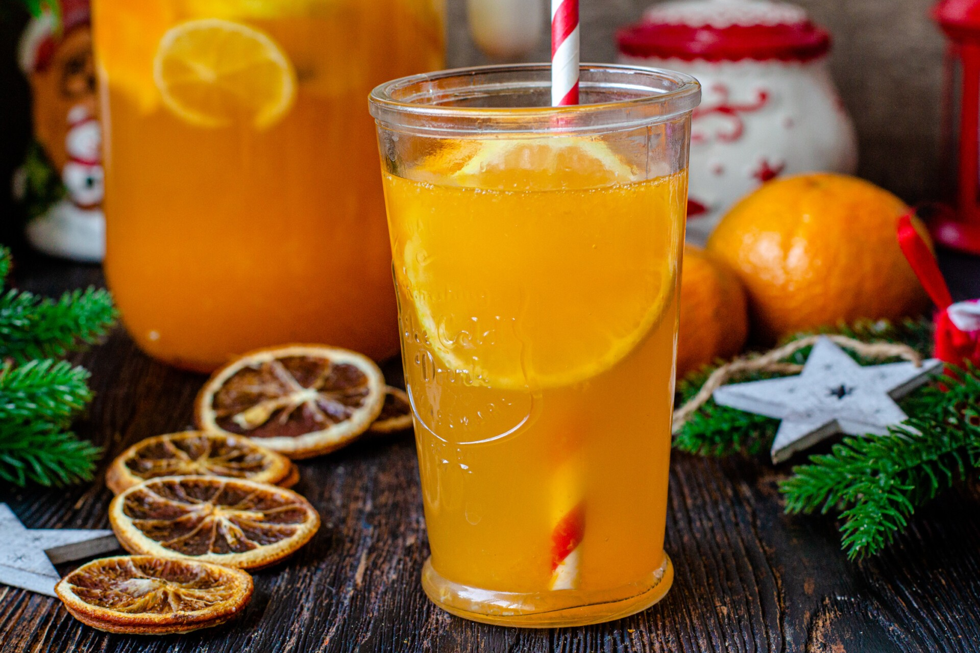 Мандариновый лимонад