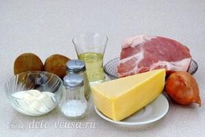 Запечённое мясо с киви: Ингредиенты