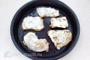 Запечённое мясо с киви: фото к шагу 8.