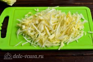 Мясное рагу с капустой за 20 минут: фото к шагу 5.