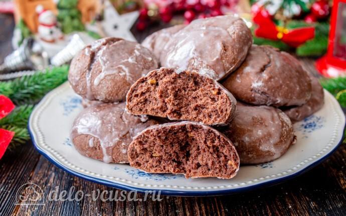 Рецепт мега-шоколадные пряники на рождество