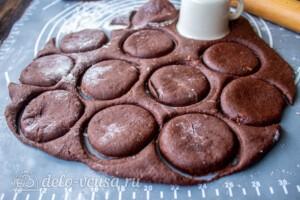 Мега-шоколадные пряники на Рождество: фото к шагу 10.