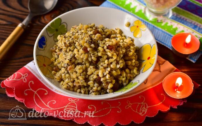 Рождественское сочиво из пшеницы