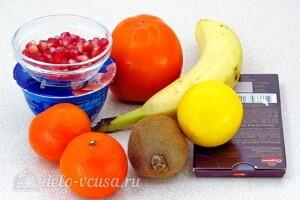 """Фруктовый салат-коктейль """"Зимний"""": Ингредиенты"""