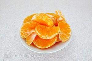 """Фруктовый салат-коктейль """"Зимний"""": фото к шагу 4."""