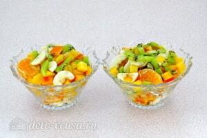 """Фруктовый салат-коктейль """"Зимний"""": фото к шагу 7."""