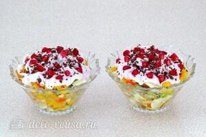 """Фруктовый салат-коктейль """"Зимний"""": фото к шагу 8."""