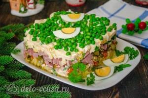 "Торт-салат ""Оливье"": фото к шагу 8."