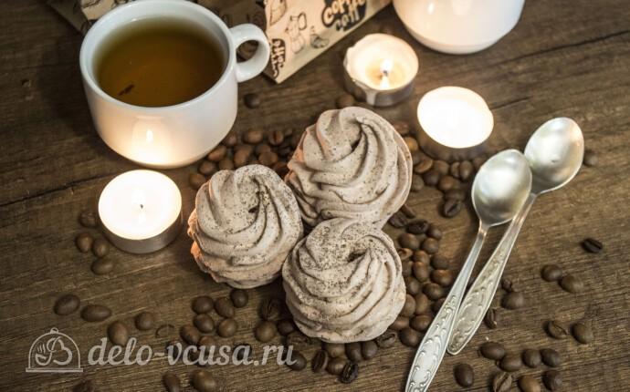 Кофейный зефир на агар-агаре