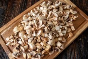 Голубцы с мясом и грибами: фото к шагу 5.