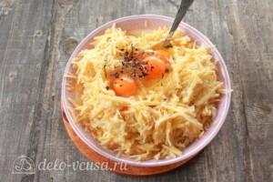 Картофельная бабка с мясом и грибами: фото к шагу 6.