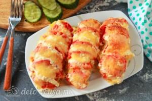Мясо по-царски с помидорами: фото к шагу 11.