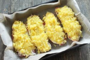 Мясо по-царски с помидорами: фото к шагу 7.