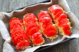 Мясо по-царски с помидорами: фото к шагу 8.