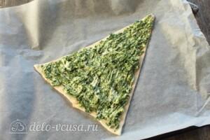 "Пицца ""Елочка"" со шпинатом: фото к шагу 7."