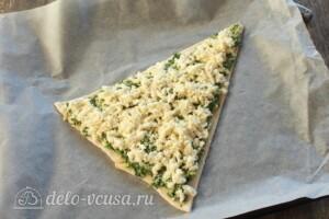 "Пицца ""Елочка"" со шпинатом: фото к шагу 8."