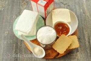 Творожный торт без выпечки: Ингредиенты