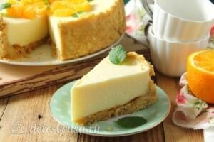 Творожный торт без выпечки: фото к шагу 15.