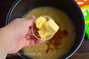 Добавить масло сливочное