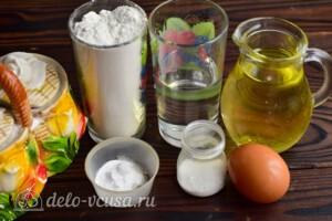 Блины на воде и соде: Ингредиенты